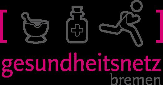 Logo des Gesundheitsnetz Bremen, ein Zusammenschluss von Apotheken